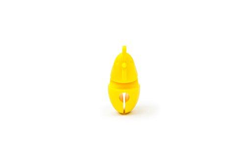 215IuvW7 AL - Fox Run 6282 Chicken Pot Clip/Spoon Holder, 1 x 1.75 x 2.5 inches, Yellow