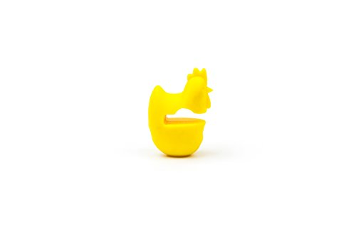 21ct5XeKWVL - Fox Run 6282 Chicken Pot Clip/Spoon Holder, 1 x 1.75 x 2.5 inches, Yellow