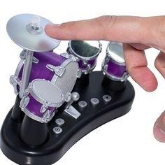 312BpWeIDd0L - Liberty Imports Electronic Mini Finger Drum Desktop Novelty Set