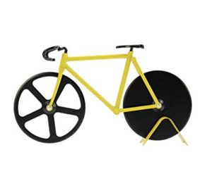 314QvewDTRL 300x250 - Pizza Cutter - Bicycle Pizza Cutter: Black & Yellow
