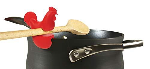 31PEkIoptVL - Fox Run 6282 Chicken Pot Clip/Spoon Holder, 1 x 1.75 x 2.5 inches, Yellow