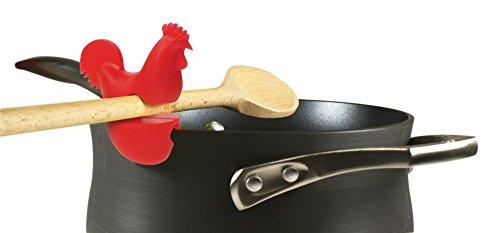 31eP2RxRXJL - Fox Run 6282 Chicken Pot Clip/Spoon Holder, 1 x 1.75 x 2.5 inches, Yellow