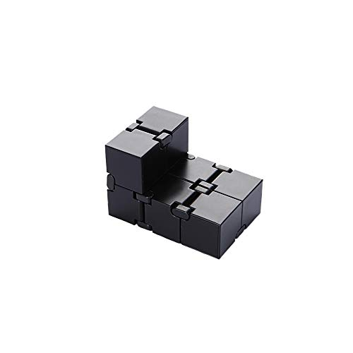 31g8G4hntQL - Infinity Cube Fidget Toy, Sensory Tool EDC Fidgeting Game for Kids and Adults, Cool Mini Gadget Best for Stress and Anxiety Relief and Kill Time, Unique Idea that is Light on the Fingers and Hands