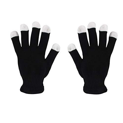31rtps2Mp0L - LED Light up Gloves Finger Light Gloves for Kids Adults Glow Rave EDM Gloves Funny Novelty Gifts