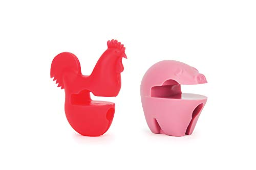 31xwHp9O0sL - Fox Run 6282 Chicken Pot Clip/Spoon Holder, 1 x 1.75 x 2.5 inches, Yellow