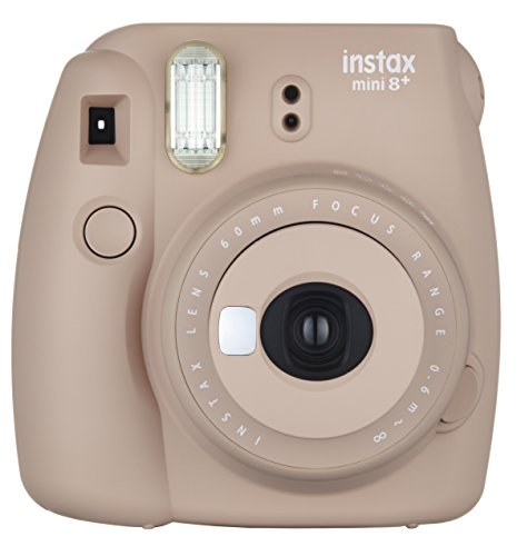 416jd90j6HL - Fujifilm Instax Mini 8+ (Mint) Instant Film Camera + Self Shot Mirror for Selfie Use - International Version (No Warranty)