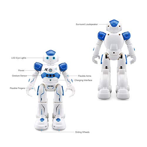 41MIJ06x2BDL - Corgy Kids Gesture Control Smart Robot Toys with Remote Control Gift Robotics