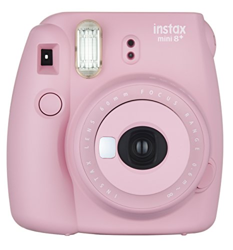 41QSWfsuaYL - Fujifilm Instax Mini 8+ (Mint) Instant Film Camera + Self Shot Mirror for Selfie Use - International Version (No Warranty)