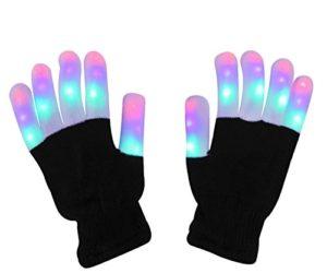 41aPMk44FSL 300x250 - LED Light up Gloves Finger Light Gloves for Kids Adults Glow Rave EDM Gloves Funny Novelty Gifts