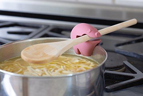 41aiAKKomnL - Fox Run 6282 Chicken Pot Clip/Spoon Holder, 1 x 1.75 x 2.5 inches, Yellow