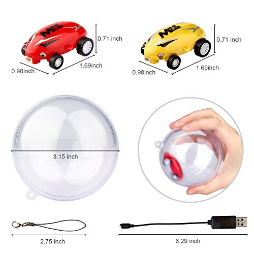 41aqfbFDJrL - EpochAir Cars Toys High Speed Micro Racer Stunt Mini Car 360 Degree Rotating with Dazzling LED Light Rechargable Novelty Stress Relief Toy Xmas Gift for Adults Kids Boys and Girls