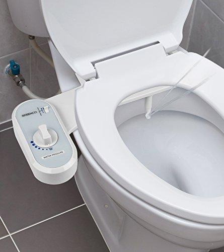41pQKgUnqEL - Greenco Bidet Fresh Water Spray Non-Electric Mechanical Bidet Toilet Seat Attachment