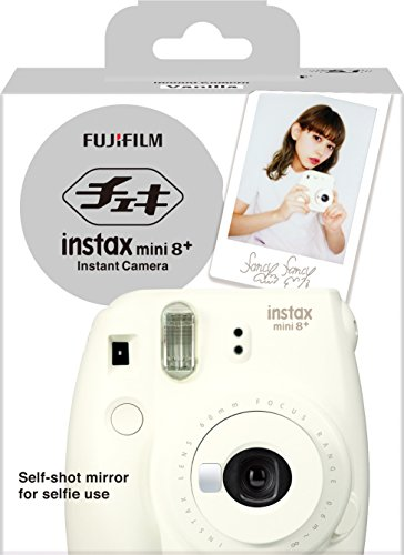41rDJ6rQEAL - Fujifilm Instax Mini 8+ (Mint) Instant Film Camera + Self Shot Mirror for Selfie Use - International Version (No Warranty)