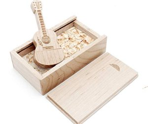 41ucW5wolgL 300x250 - Ace one Wooden Maple Guitar Shape USB Flash Drive USB Memory Stick Thumb Drivers 8g 2.0 High Speed with Matching Box for Novelty Gift (8GB, Maple Guitar)