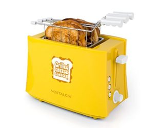 41wQWQD66sL 300x250 - Nostalgia TCS2 Grilled Cheese Toaster with Easy-Clean Toaster Baskets and Adjustable Toasting Dial