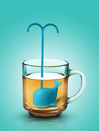 41y6puL07KL - Fred SPIKED TEA Narwhal Tea Infuser