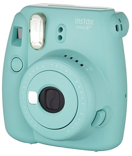 41yr60WoBbL - Fujifilm Instax Mini 8+ (Mint) Instant Film Camera + Self Shot Mirror for Selfie Use - International Version (No Warranty)
