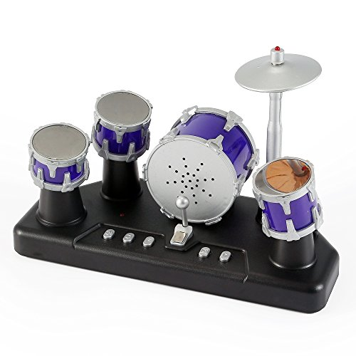 510nV1K5WmL - Liberty Imports Electronic Mini Finger Drum Desktop Novelty Set