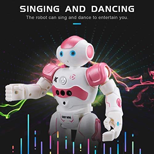 5113OcO6jfL - Corgy Kids Gesture Control Smart Robot Toys with Remote Control Gift Robotics