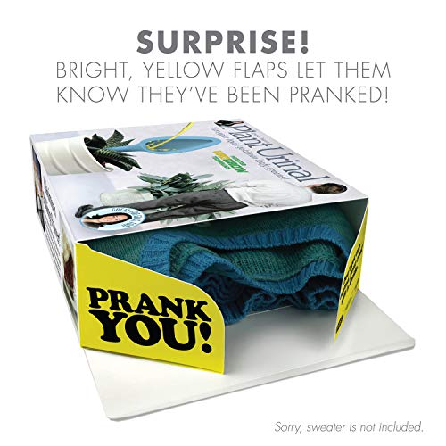 """511G9BhHOJL - Prank Pack """"Plant Urinal"""" - Wrap Your Real Gift in a Prank Funny Gag Joke Gift Box - by Prank-O - The Original Prank Gift Box   Awesome Novelty Gift Box for Any Adult or Kid!"""