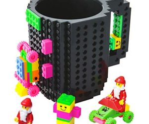 512HINUNuZL 300x250 - BOMENNE Build-on Brick Mug,Novelty Creative Compatible with LEGO DIY building Blocks Coffee Cup with bricks,is unique Christmas gift Idea (Black)