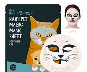 512n BCimkL 300x250 - [Holika Holika] Baby Pet Magic Mask Sheet 22ml #Soothing Cat (10 Sheet)