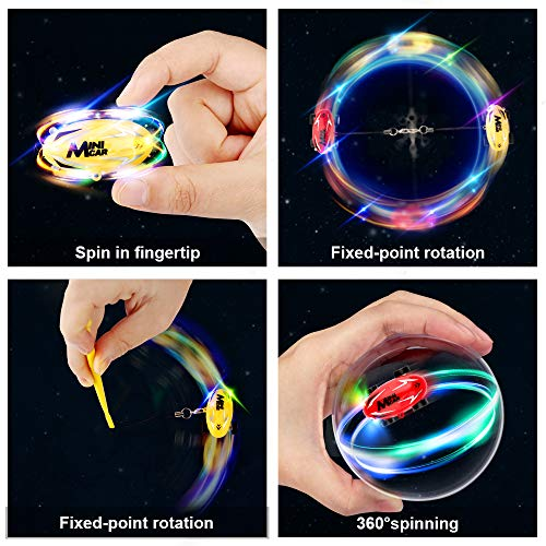 51782mCb1ZL - EpochAir Cars Toys High Speed Micro Racer Stunt Mini Car 360 Degree Rotating with Dazzling LED Light Rechargable Novelty Stress Relief Toy Xmas Gift for Adults Kids Boys and Girls
