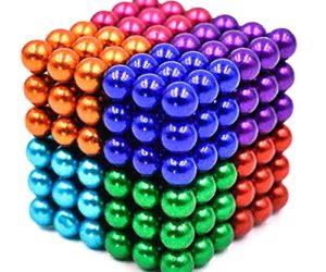 519v4hwvrzL 300x250 - JIFENGTOYS 8 Colors 216 Pcs 5MM Magnets Fidget Blocks Building Toys Magnetic Building Blocks Sets for Development Stress Relief Learning Gift for Adults (216 PCS)
