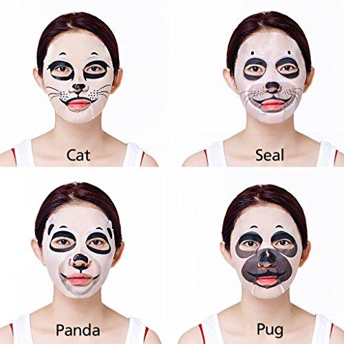 51AiIaNUA9L - [Holika Holika] Baby Pet Magic Mask Sheet 22ml #Soothing Cat (10 Sheet)