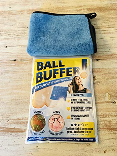 51EQpWRD6YL - Laila and Lainey Ball Buffer - Novelty Prank or Gag Gift - White Elephant Gift Idea