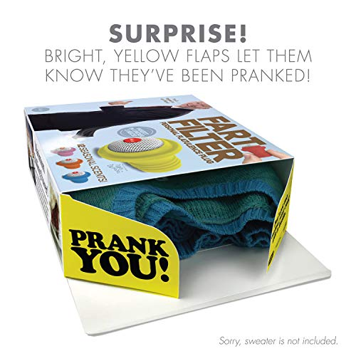 51JMvbtXW5L - Prank Pack - Wrap Your Real Gift in a Prank Funny Holiday Gag Joke Gift Box - by Prank-O - The Original Prank Gift Box   Awesome Novelty Gift Box for Any Adult or Kid! (Roto Wipe)