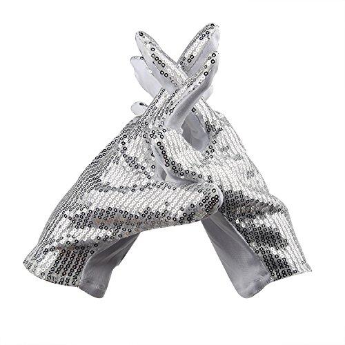 51MZuPvZXwL - LED Light up Gloves Finger Light Gloves for Kids Adults Glow Rave EDM Gloves Funny Novelty Gifts