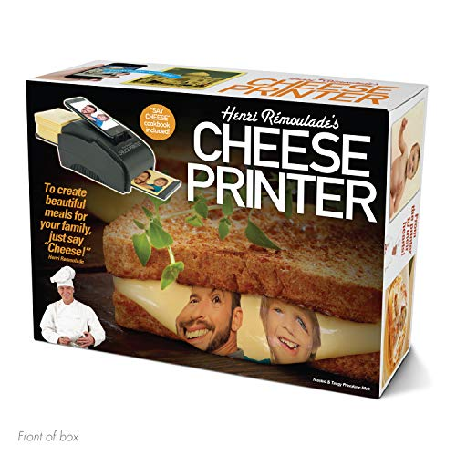 """51MlQdhDoOL - Prank Pack """"Cheese Printer"""" - Wrap Your Real Gift in a Prank Funny Gag Joke Gift Box - by Prank-O - The Original Prank Gift Box   Awesome Novelty Gift Box for Any Adult or Kid!"""