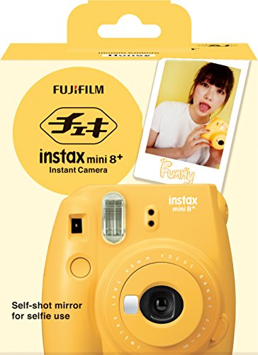 51MwnLu3oSL - Fujifilm Instax Mini 8+ (Mint) Instant Film Camera + Self Shot Mirror for Selfie Use - International Version (No Warranty)