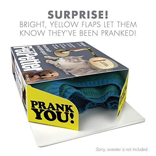 "51P962BwCxoL - Prank Pack ""Pet Petter"" - Wrap Your Real Gift in a Prank Funny Gag Joke Gift Box - by Prank-O - The Original Prank Gift Box 