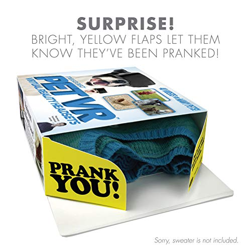 """51T0pnNAS7L - Prank Pack """"Pet VR"""" - Wrap Your Real Gift in a Prank Funny Gag Joke Gift Box - by Prank-O - The Original Prank Gift Box 