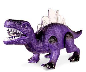 51X6WmEu85L 300x250 - Windy City Novelties LED Light Up and Walking Realistic Dinosaur with Sound