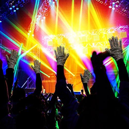 51XAPiNVIyL - LED Light up Gloves Finger Light Gloves for Kids Adults Glow Rave EDM Gloves Funny Novelty Gifts