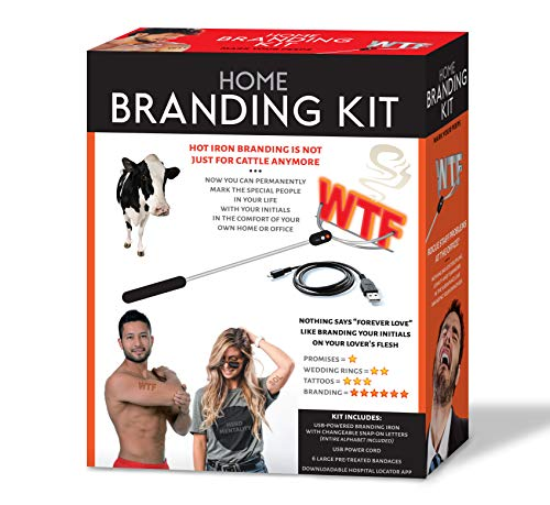 51dZzsRw16L - Maad Home Branding Kit Prank Gift Box - Perfect Gag, Anniversary Presents, or White Elephant