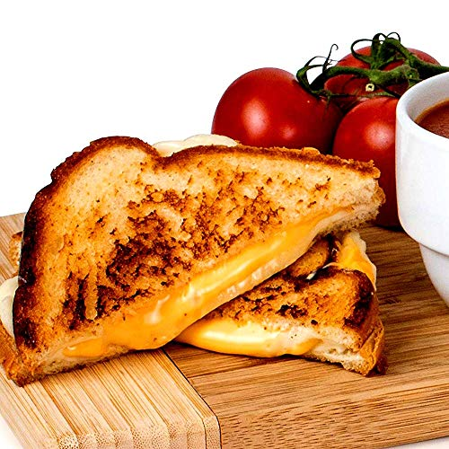 51ebGU9EU9L - Nostalgia TCS2 Grilled Cheese Toaster with Easy-Clean Toaster Baskets and Adjustable Toasting Dial