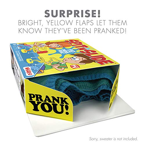 """51h4bHDVEtL - Prank Pack """"Spit 'N Slide"""" - Wrap Your Real Gift in a Prank Funny Gag Joke Gift Box - by Prank-O - The Original Prank Gift Box 