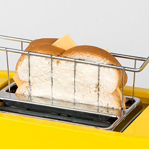 51moBVIsxfL - Nostalgia TCS2 Grilled Cheese Toaster with Easy-Clean Toaster Baskets and Adjustable Toasting Dial