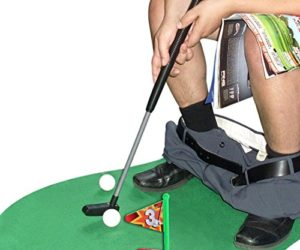 51qSjoR1u1L 300x250 - Toilet Golf Potty Time Putter Game - Funny Gag Gifts for Adults