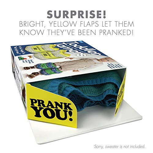 51qZf8 Ta5L - Prank Pack - Wrap Your Real Gift in a Prank Funny Gag Joke Gift Box - by Prank-O - The Original Prank Gift Box | Awesome Novelty Gift Box for Any Adult or Kid! (Toddler Tamers)