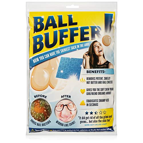 51uuEQszvKL - Laila and Lainey Ball Buffer - Novelty Prank or Gag Gift - White Elephant Gift Idea