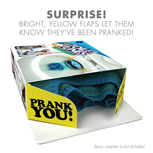 51vHuJnwqsL - Prank Pack - Wrap Your Real Gift in a Prank Funny Holiday Gag Joke Gift Box - by Prank-O - The Original Prank Gift Box   Awesome Novelty Gift Box for Any Adult or Kid! (Roto Wipe)