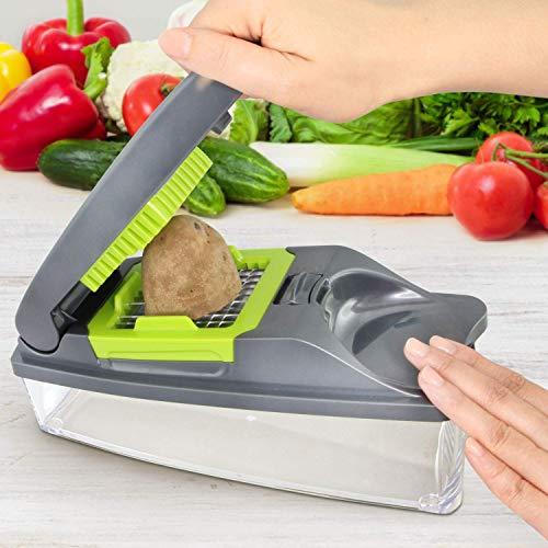 51wOhZZhDBL - Mueller Onion Chopper Pro Vegetable Chopper - Strongest - NO MORE TEARS 30% Heavier Duty Multi Vegetable-Fruit-Cheese-Onion Chopper-Dicer-Kitchen Cutter