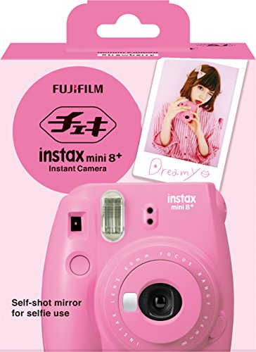 51xRsN2NYcL - Fujifilm Instax Mini 8+ (Mint) Instant Film Camera + Self Shot Mirror for Selfie Use - International Version (No Warranty)