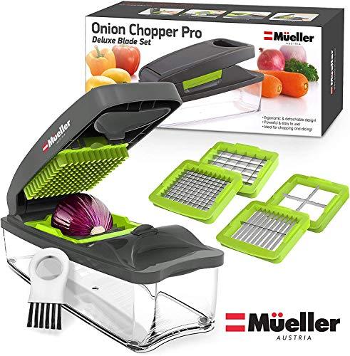 51ykLZJLMwL - Mueller Onion Chopper Pro Vegetable Chopper - Strongest - NO MORE TEARS 30% Heavier Duty Multi Vegetable-Fruit-Cheese-Onion Chopper-Dicer-Kitchen Cutter