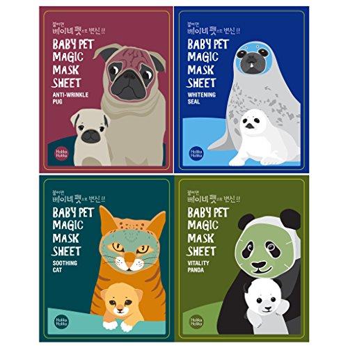 51zbs1A1mHL - [Holika Holika] Baby Pet Magic Mask Sheet 22ml #Soothing Cat (10 Sheet)